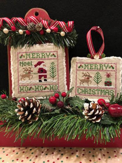 Santa & Rudolph - by ScissorTail Designs