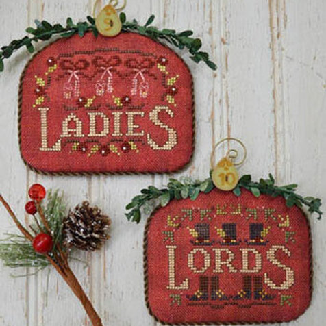 Ladies & Lords -12 Days - by Hands On Design