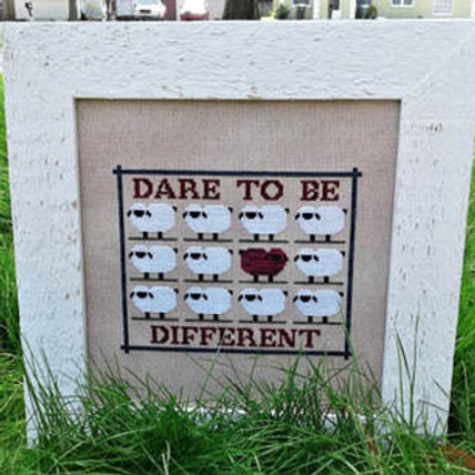 Dare 2 Be Different - by Vintage NeedleArts