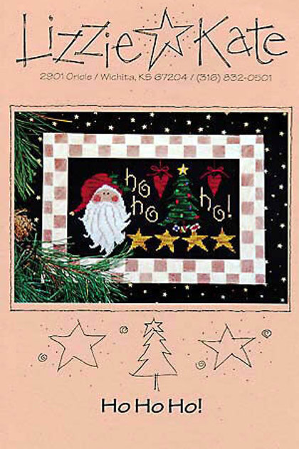 Ho Ho Ho! by Lizzie Kate - Cross Stitch Pattern