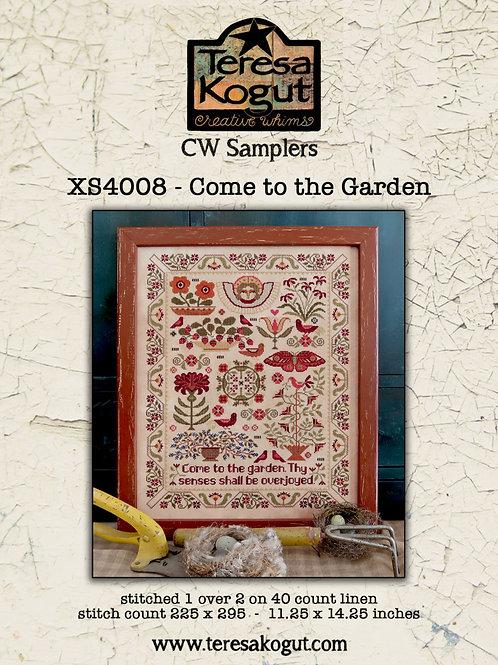 Come to the Garden XS4008 - by Teresa Kogut