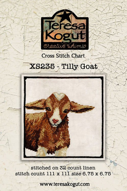 Tilly Goat -by Teresa Kogut