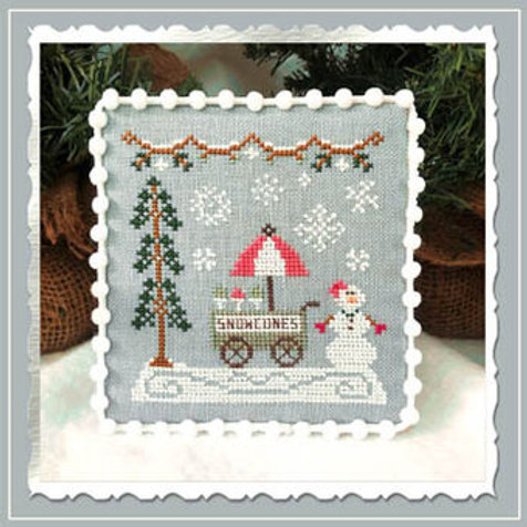 Snow Cone Cart - Snow Village - Country Cottage Needleworks