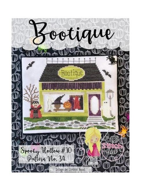 Bootique - Little Stitch Girl - Cross Stitch Pattern