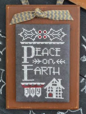 Peace on Earth - Hands On Design - Cross Stitch Pattern