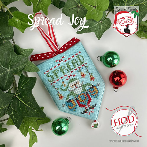 Spread Joy - Secret Santa Series - by Hands On Design