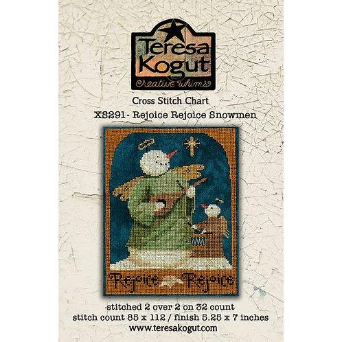 Rejoice Rejoice Snowmen XS291 - by Teresa Kogut