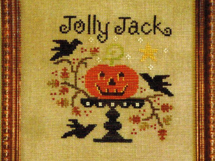 Jolly Jack - All Through the Night - Cross Stitch Pattern