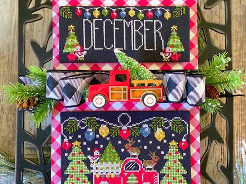 December - Trucking Along - Stitching With the Housewives