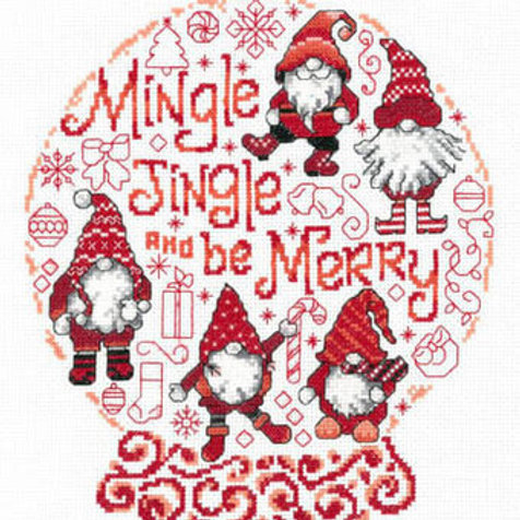 Let's Mingle & Jingle - By Imaginating - Cross Stitch Pattern
