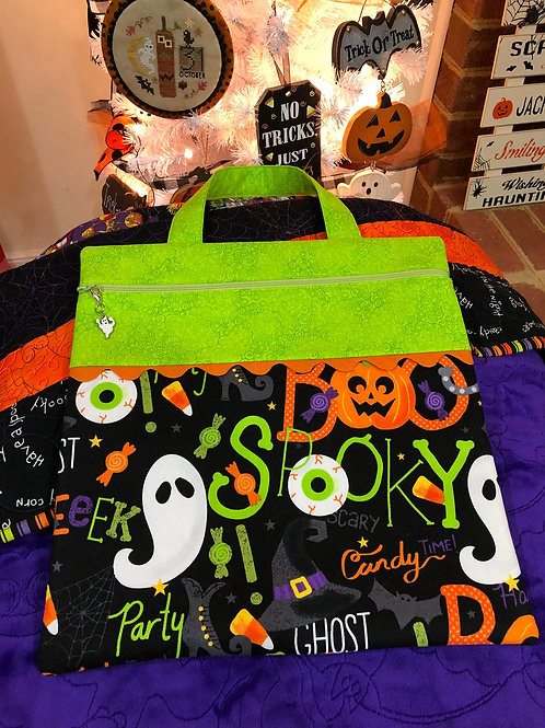 Halloween Witch Project Bag - by Gingham Bags designed by C. Lynn