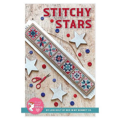 Stitchy Stars  - By Lori Hot for It's Sew Emma