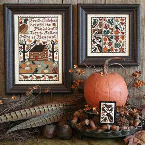 October - by The Prairie Schooler