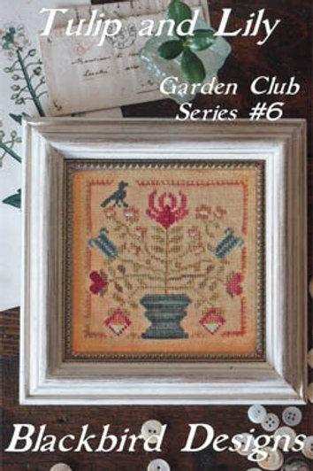 Tulip and Lilly - Garden Club Series #6 - Blackbird Designs