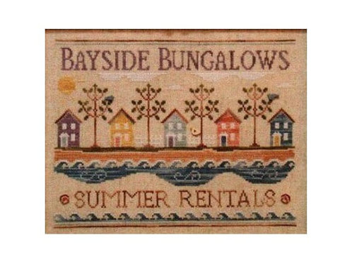 Bayside Bungalows - by Country Cottage Needleworks - Cross Stitch  Pattern