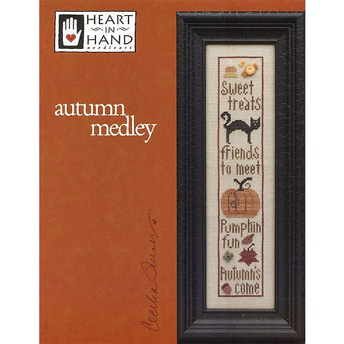 Autumn Medley - By Heart In Hand - Cross Stitch Pattern