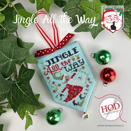 Jingle All The Way - Secret Santa Series - by Hands On Design