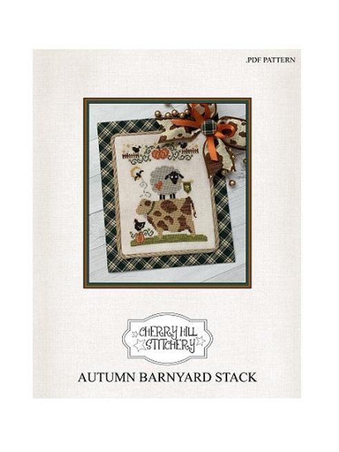 Autumn Barnyard Stack by Cherry Hill Stitchery