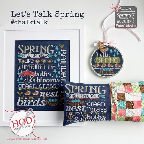 Let's Talk Spring - Hands On Designm