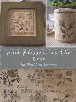 and Blossom as the Rose (book) - Blackbird Designs - Cross Stitch Pattern
