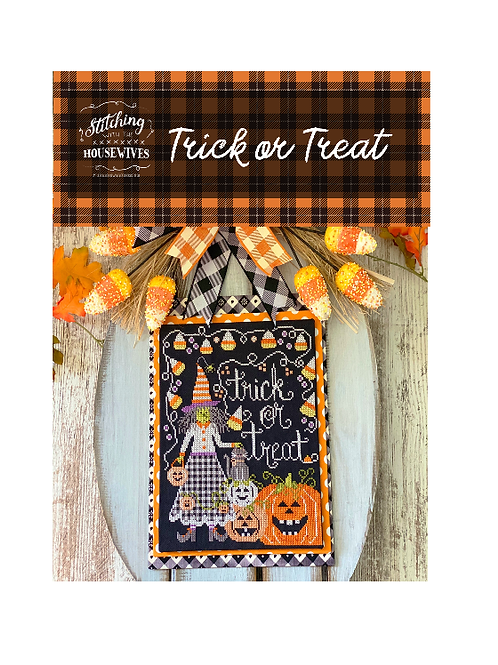 Trick Or Treat - Stitching with the Housewives