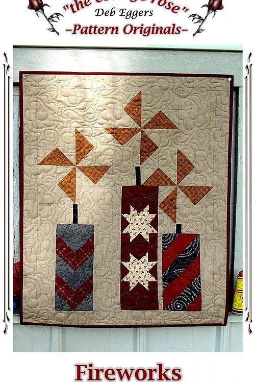 Fireworks -Quilt Pattern - The Cottage Rose