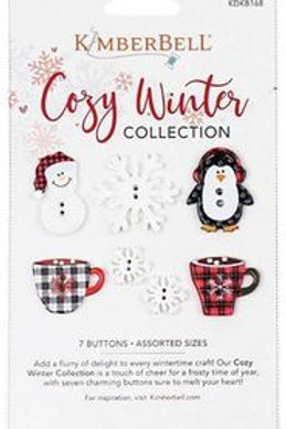 Kimberbell KDKB168 Cozy Winter Collection Buttons