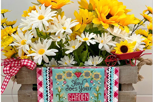How Does Your Garden Grow - by Stitching With the Housewives