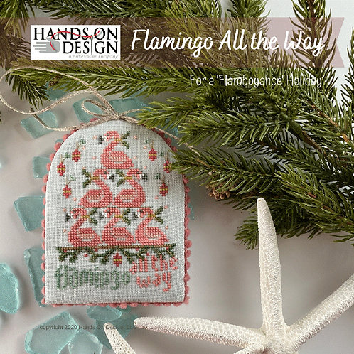 Flamingo All The Way - 'Flamboyance' Holiday - By Hands On Design