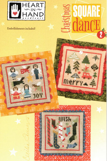Christmas Square Dance 2 - Heart In Hand - Cross Stitch Pattern