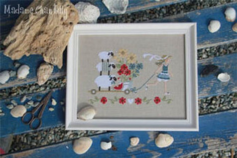 Summer Delivery - Madame Chantilly - Cross Stitch Pattern
