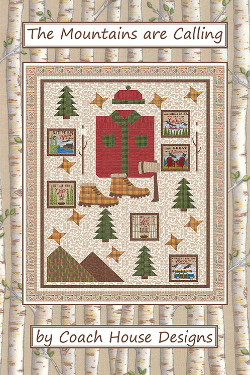 The Mountains are Calling - Quilt Pattern