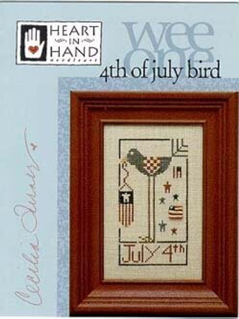 4th of July Bird - by Heart in Hand