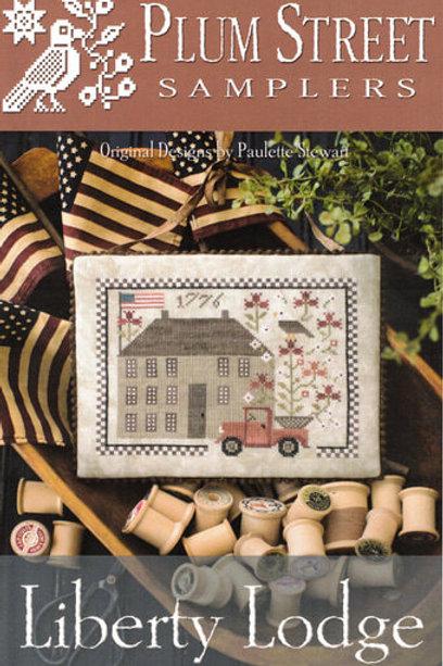 Liberty Lodge - Plum Street Samplers - Cross Stitch Pattern