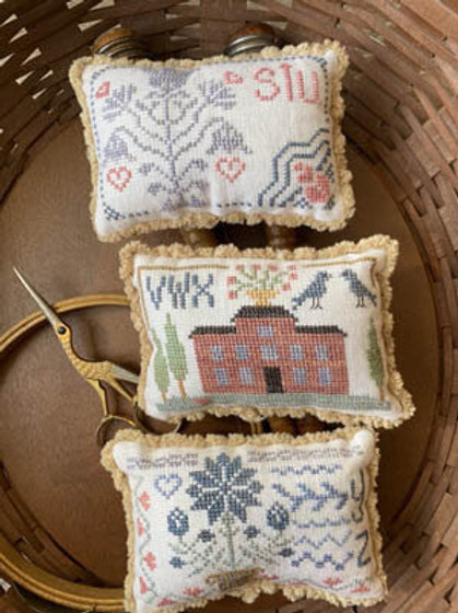 Sampler Petites Part 3 -  From The Heart - Cross Stitch Pattern