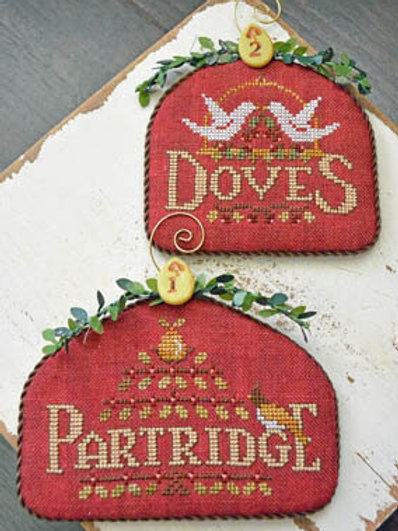 Partridge & Doves - 12 Days - by Hands on Design