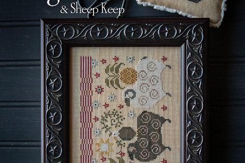 Flag Flock & Sheep Keep by Plum Street Samplers