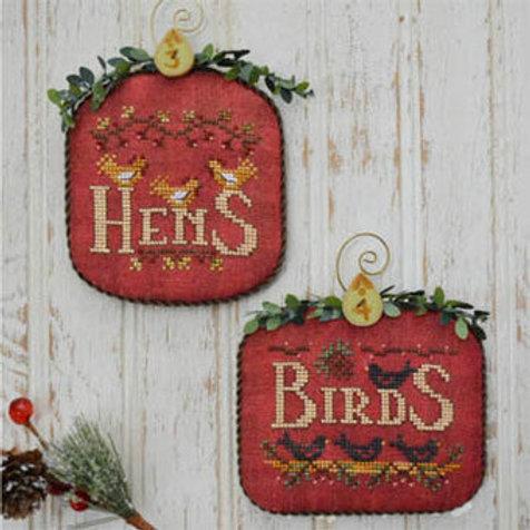 Hens & Birds - 12 Days - by Hands on Design
