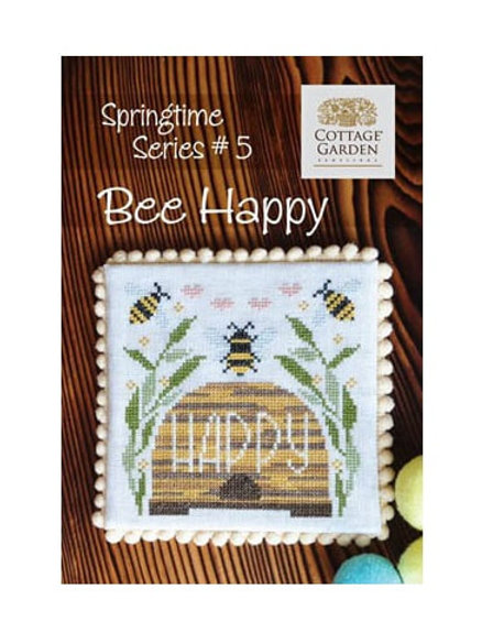 Bee Happy - Springtime Series #5 - Cortage Garden Samplings