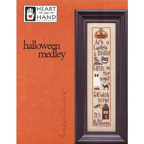 Halloween Medley - Heart In Hand - Cross Stitch Pattern