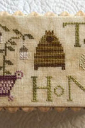 The Tea Box - by Lucy Beam Love In Stitches