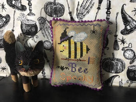 Bee Spooky by Darling & Whimsy Designs - Cross Stitch Pattern