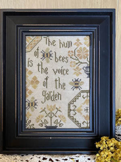Quaker Bees - From The Heart - Cross Stitch Pattern