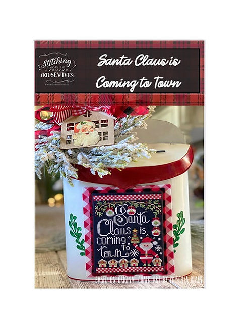 Santa Claus is Coming to Town - Stitching with the Housewives