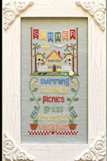 Summer - Seasonal Celebrations - Country Cottage Needleworks