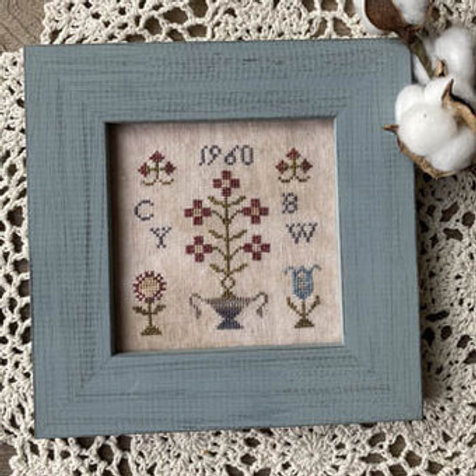Motif Minis - Two - From the Heart - Cross Stitch Pattern