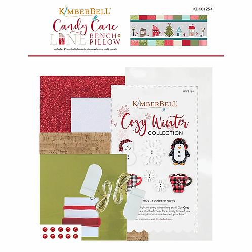 Candy Cane Lane Bench Pillow Embellishment Kit