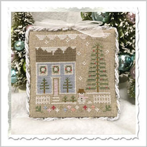 Glitter Village - Country Cottage Needleworks - Cross Stitch Pattern