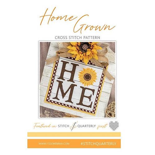 Home Grown - By Its Sew Emma - Cross Stitch Pattern