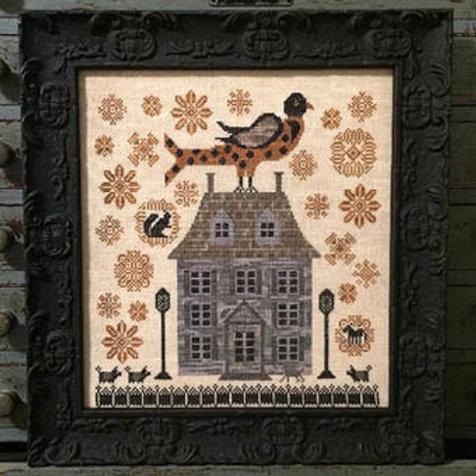 Sunflower Farm - by Kathy Barrick - Cross Stitch Pattern